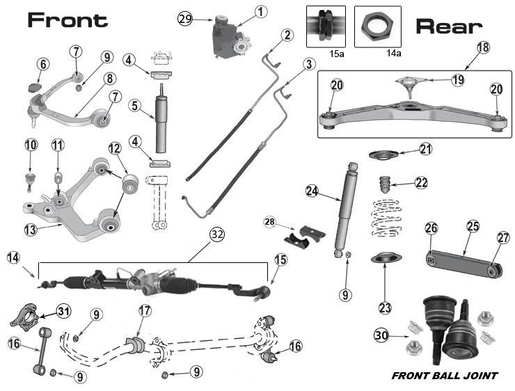 p394-liberty_kj_steering_parts